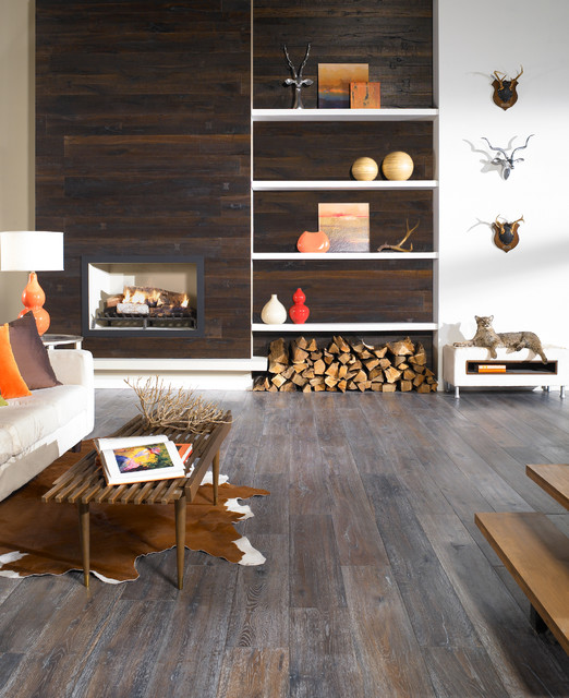 Hardwood and More contemporary-living-room