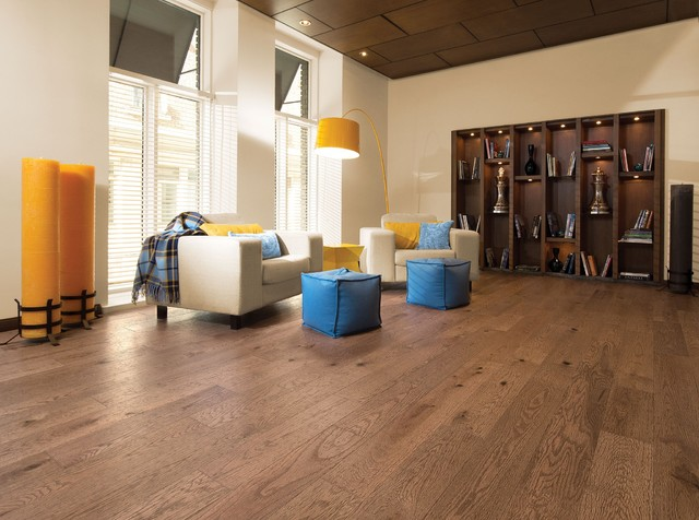Hardwood modern living room las vegas by expert for Hardwood floors las vegas