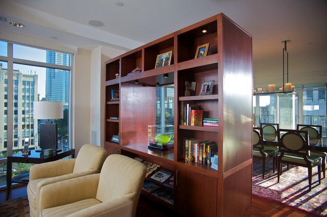 Harkness Residence-Indianapolis Urban Condo modern-living-room