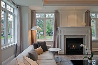 Harlandale Avenue transitional-living-room