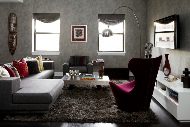 Harlem Apartment eclectic-living-room