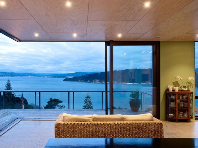 Hataitai home contemporary living room wellington for Room design kapiti
