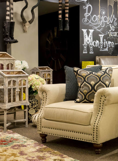 Haunted home eclectic living room omaha by for Nebraska furniture mart living room tables