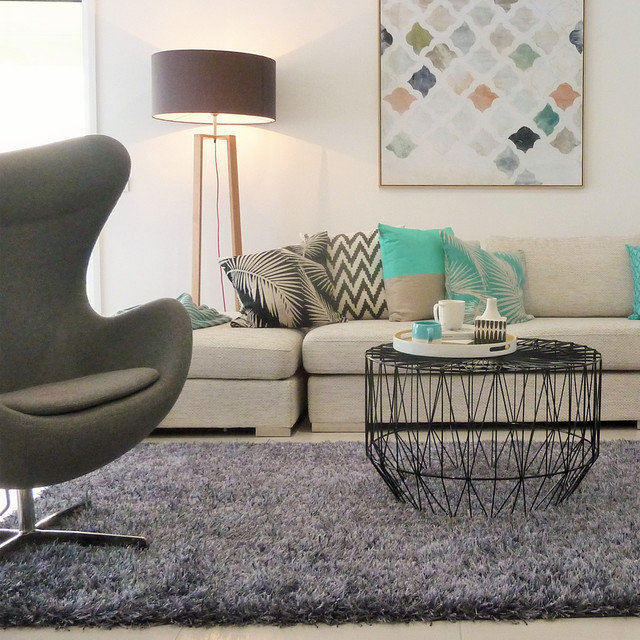 Havana Geometric Wire Coffee Table - Living Room - Melbourne - by ...