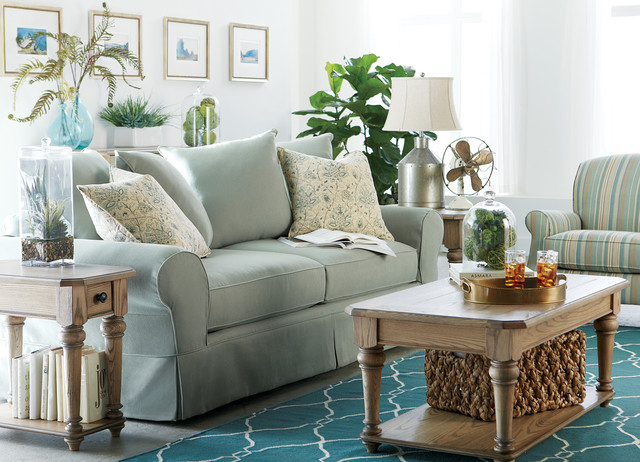 Havertys furniture for Beach style living room furniture