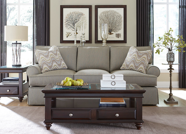 Havertys Furniture Transitional Living Room