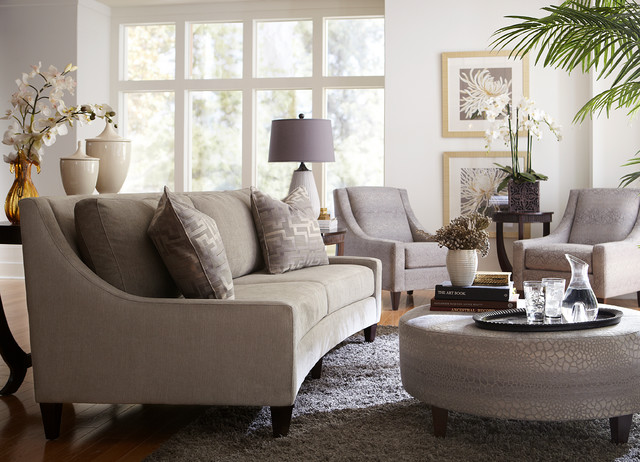 Havertys Furniture Contemporary Living Room