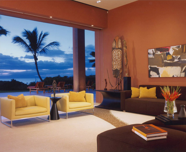 Hawaii Residence Contemporary Living Room Hawaii By The Wiseman Group
