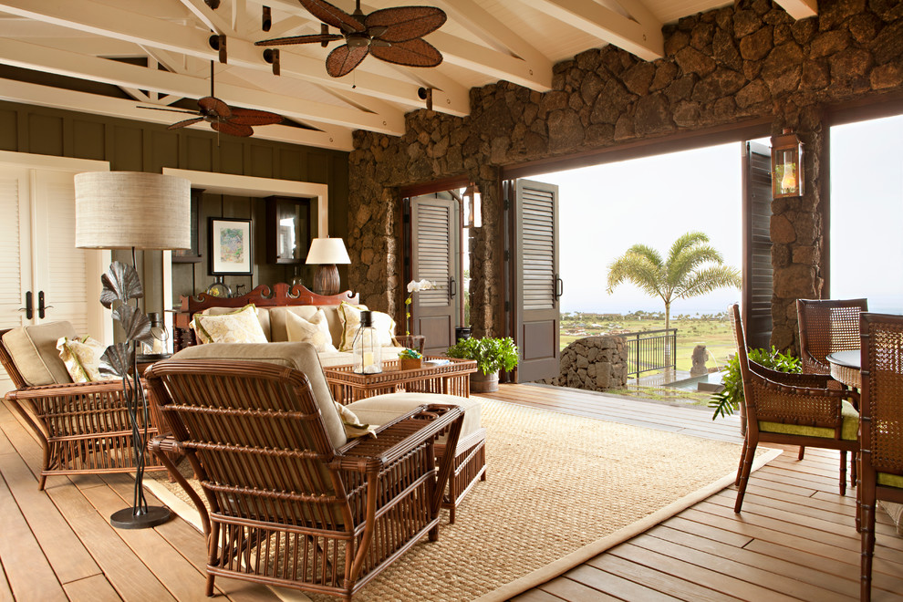Hawaiian Plantation Retreat Tropical
