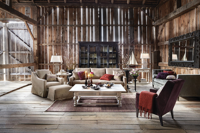 Hawthorne Collection Traditional Living Room By Arhaus