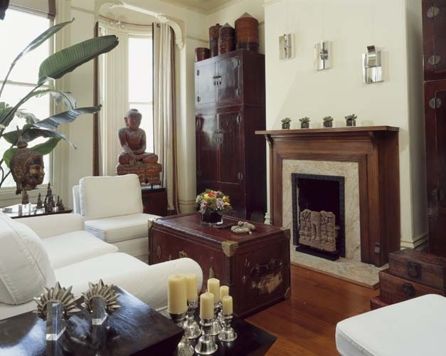 Hayes Street eclectic-living-room