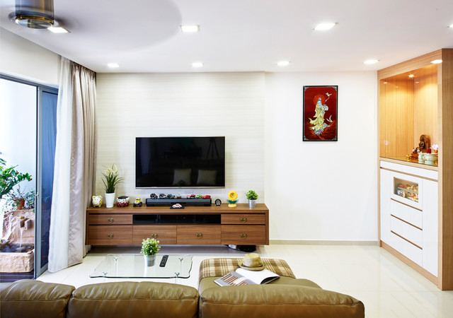 HDB Lake Vista, 138C Yuan Ching Road - Living Room
