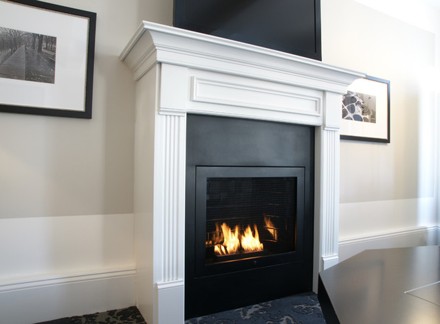 Hearth cabinet ventless fireplaces commercial for Ventless fireplace modern