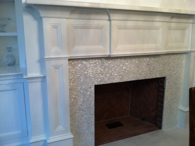 Hearth Traditional Living Room New York By Ideal Tile Of