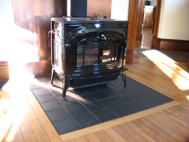 Hearth Inlay Traditional Living Room Burlington By