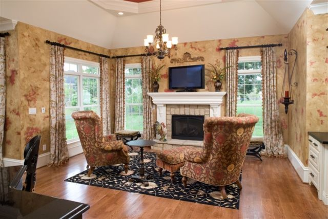 Hearth Room Traditional Living Room Louisville By Details Furniture Gallery And Design