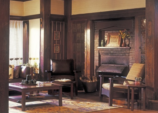 Hearthside - Craftsman - Living Room - other metro - by Stickley ...