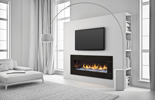 """Heat & Glo Primo 48"""" Contemporary Indoor Fireplaces"""