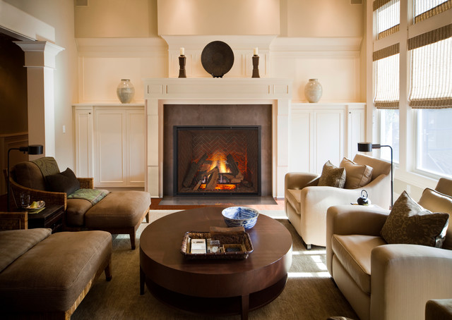 Heat & Glo TRUE-50 Gas Fireplace - Traditional - Living Room ...
