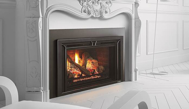 Heat N Glo Gas Inserts Escape I35 Traditional Living Room Other By Northfield