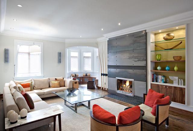 Heath Street, Living Room contemporary-living-room