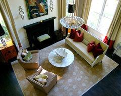Heather Garrett Design contemporary-living-room