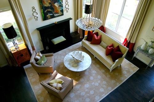 Heather Garrett Design contemporary living room