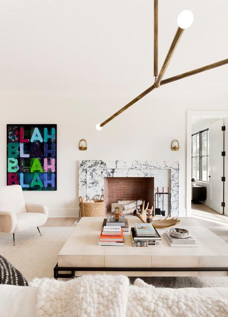 Hedges Lane, Sagaponack, NY scandinavian-living-room