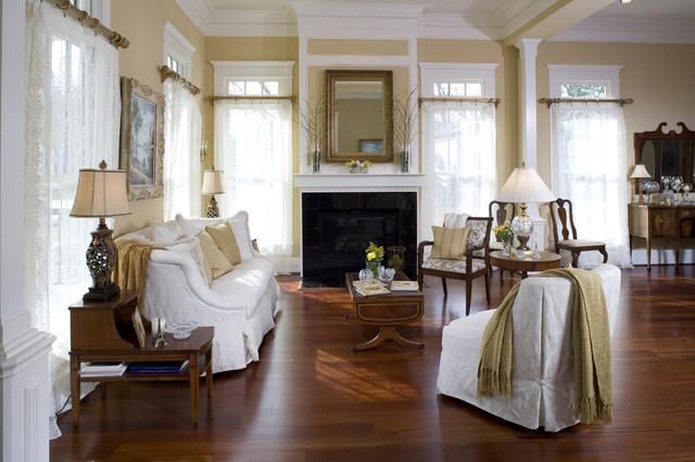 Heights Craftsman craftsman-living-room