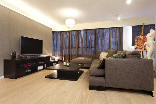 Helena Garden (Hong Kong) modern-living-room