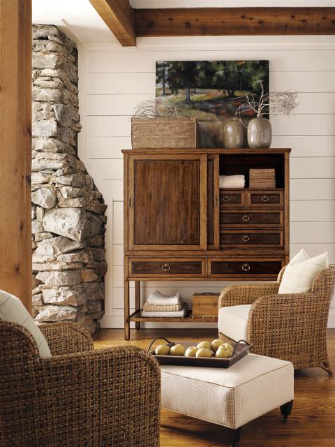 Henredon Spring Lake Armoire traditional-living-room
