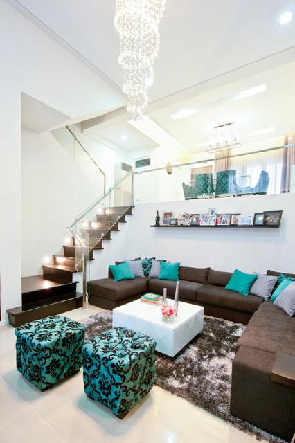 Hernandez Residence contemporary-living-room