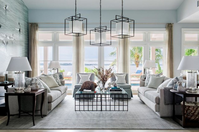 HGTV Dream Home 2016 beach-style-living-room