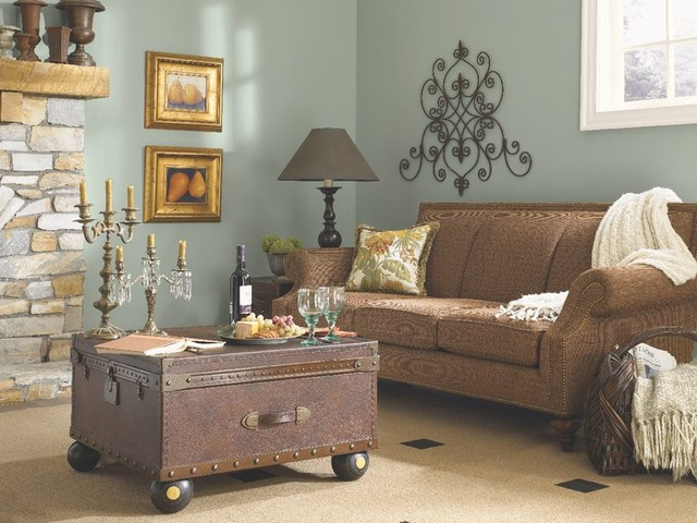 Sherwin Williams Living Room Hgtv Home™Sherwinwilliams  Traditional  Living Room .