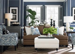 HGTV Home CU.2 Sofa by Bassett Furniture - Contemporary - Living ...