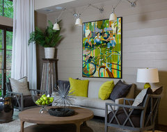 HGTV transitional-living-room