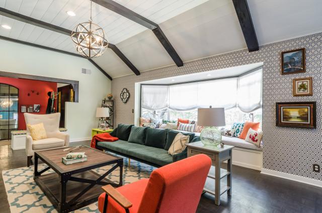 hgtv 39 s house hunters renovation eclectic living room los angeles by kcs design. Black Bedroom Furniture Sets. Home Design Ideas