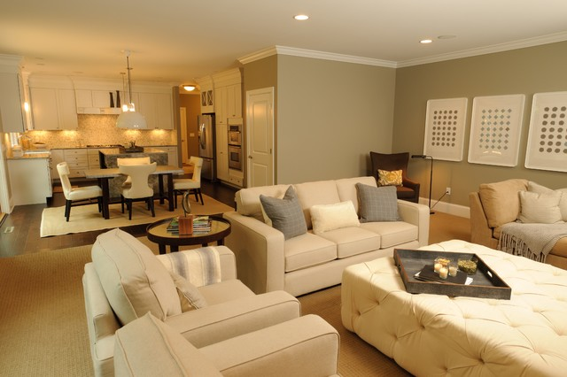 Beau HGTV Show House Showdown Transitional Living Room