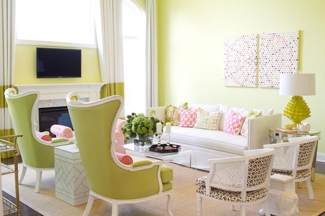 HGTV Showhouse Contemporary Living Room By Alisha Gwen Interior Design