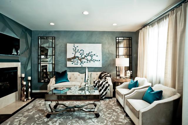 . HGTV Showhouse Showdown TV show   Contemporary   Living Room
