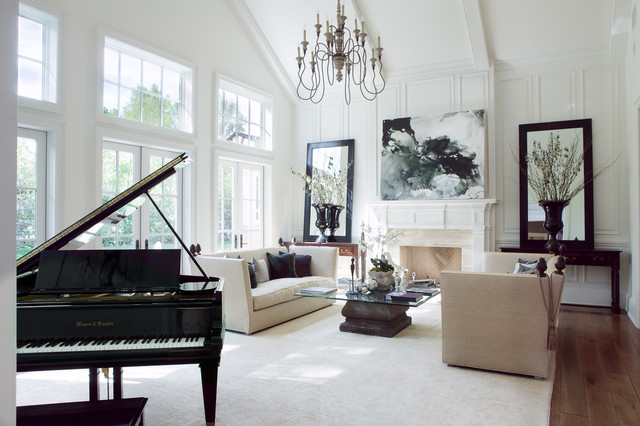 Hidden Hills Traditional living room