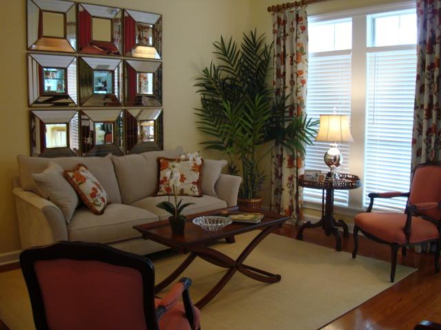 Hidden Hills Residence eclectic-living-room