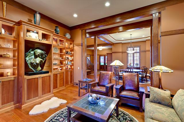 High Carolina contemporary-living-room