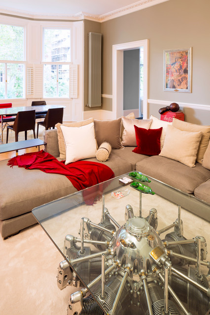 High end bespoke design apartment south kensington for High end interior designers london