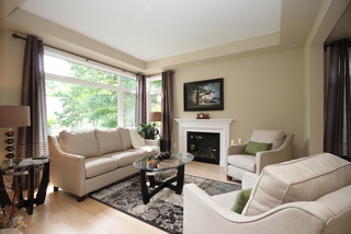 High End Property Staging Ottawa By Capital Home Staging Design Traditional Living Room