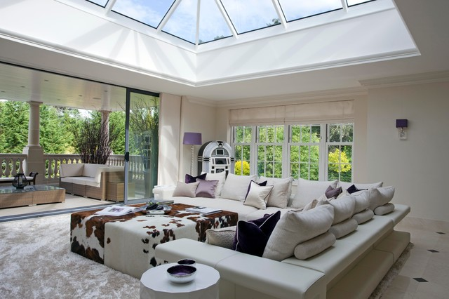 fascinating high end living room design   High End Residential London - Eclectic - Living Room ...