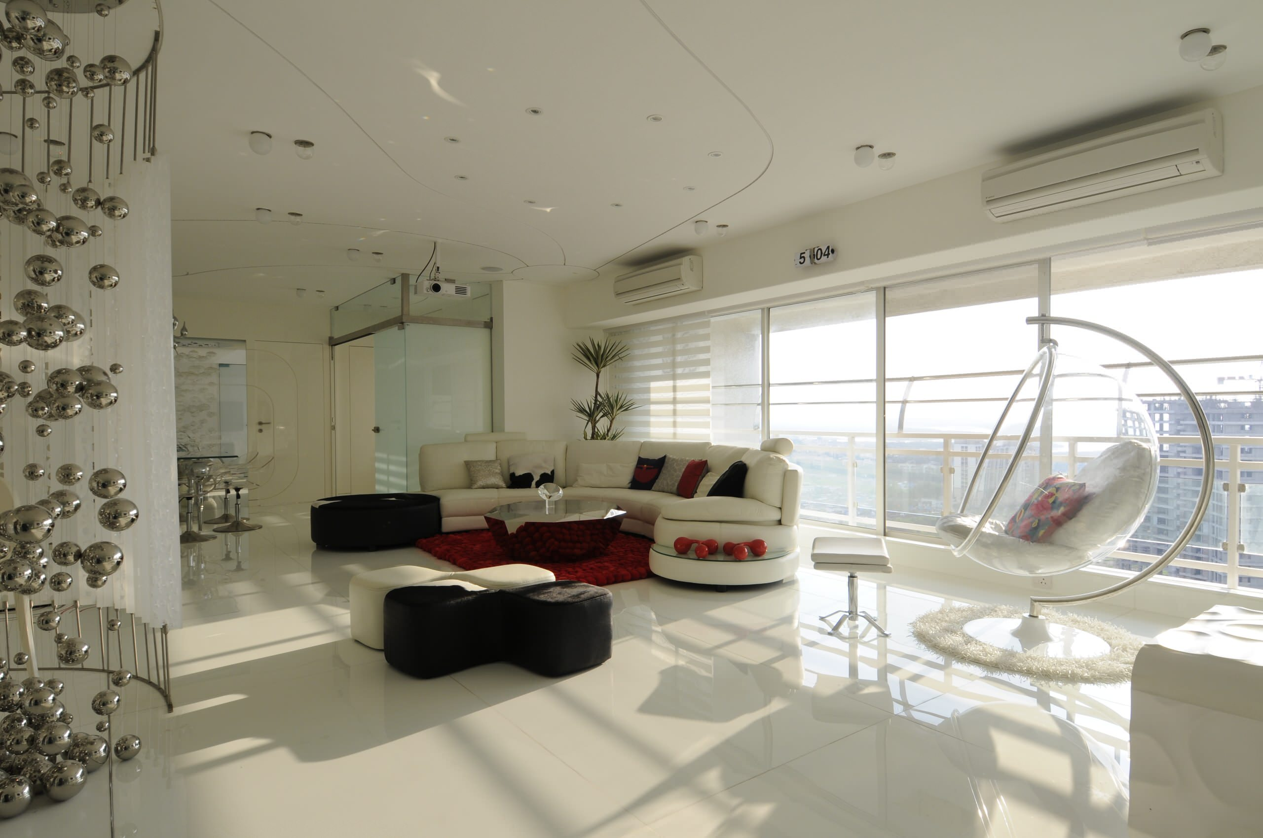 75 Beautiful Modern Marble Floor Living Room Pictures Ideas December 2020 Houzz