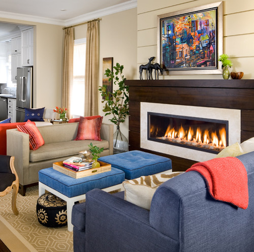 Traditional Interior Designers In Chicago: Tee Jay Interiors: Fireplace Design And Style Ideas