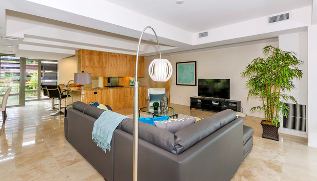 High Rise Condo Scottsdale Optima 7141 4001 Contemporary Living Room Phoenix By Lydia