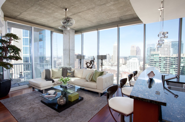 Awesome High Rise Apartments In Atlanta Pictures - Interior Design ...
